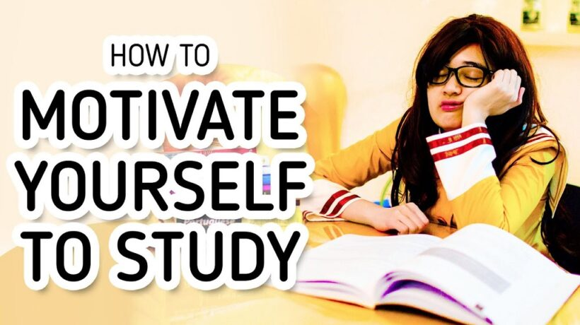 How to motivate yourself to study, in 12 keys